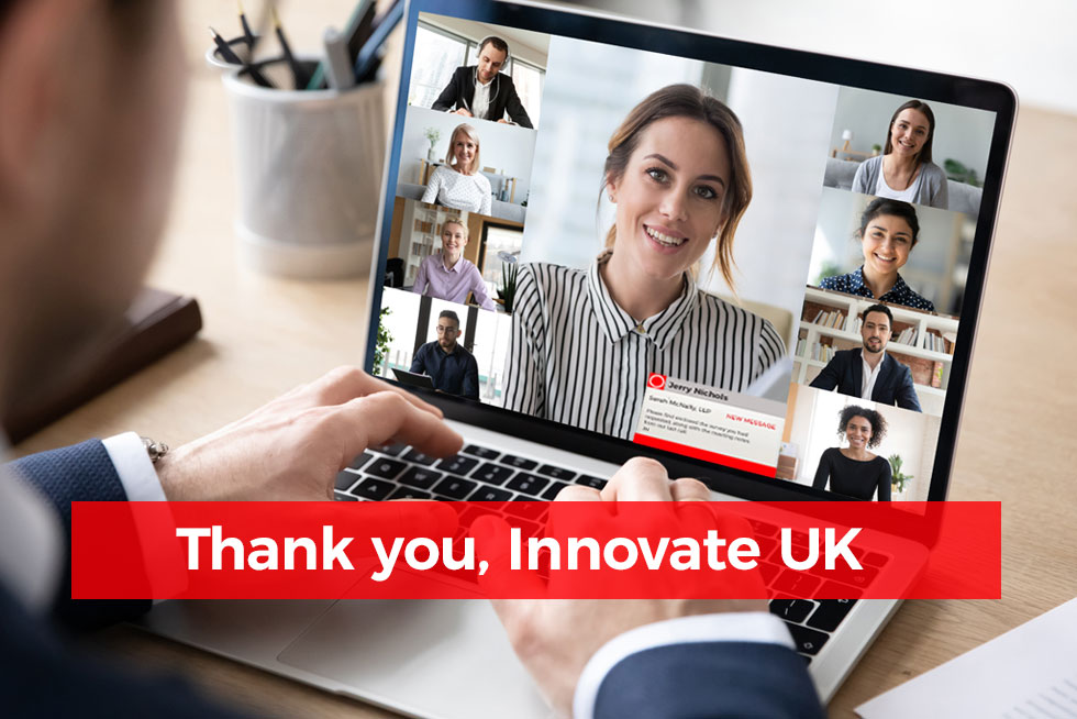 Thank you, Innovate UK