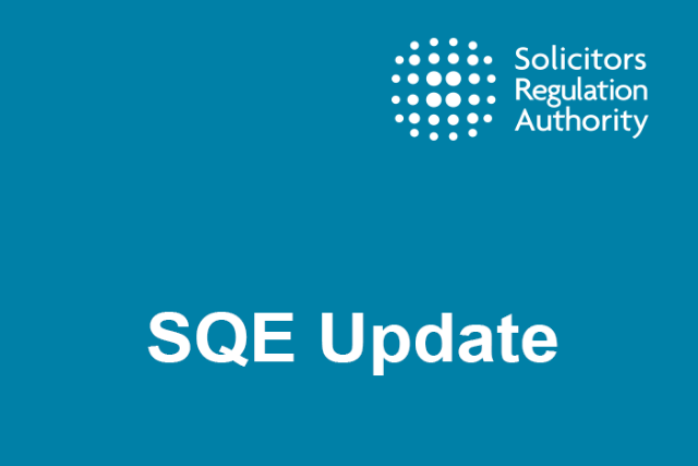 All change? Just a year to go until the introduction of the SQE
