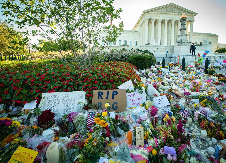 Ruth Bader Ginsburg Vigil