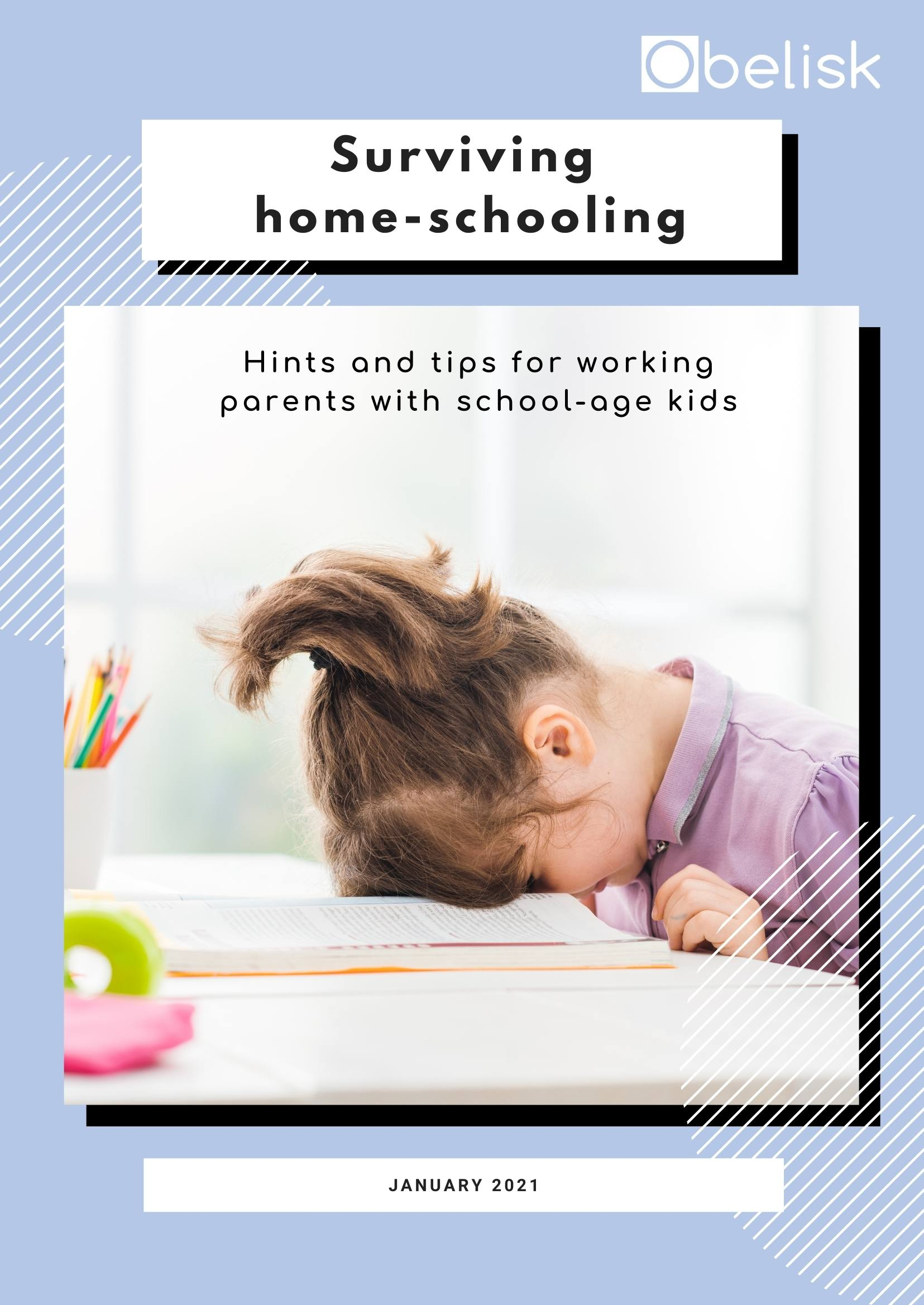 Front cover of Obelisk tips for home-schooling