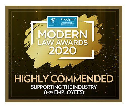 Modern Law Awards 2020